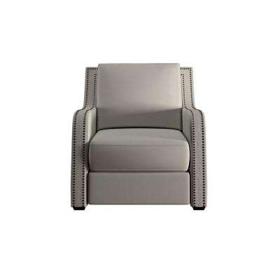 Sloane Off-White Linen Arm Chair