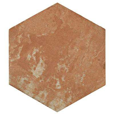 Americana Boston North End Hex 11 in. x 12-3/4 in. Porcelain Floor and Wall Tile (11.85 sq. ft. / case)
