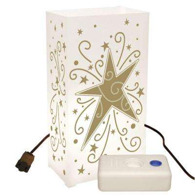 Electric Luminaria Kit with LumaBases - Star (10-Count)