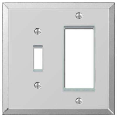 2-Gang 1 Toggle 1 Decora Wall Plate - Mirror