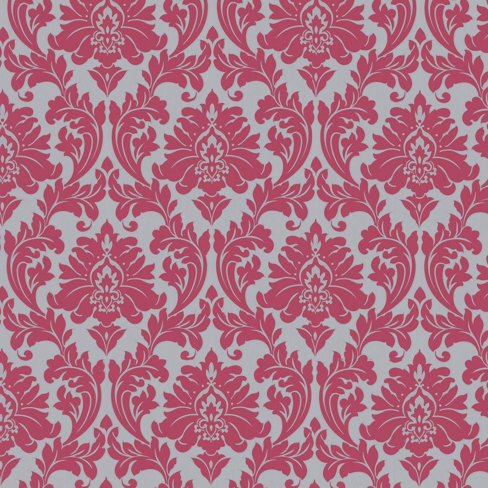 Graham Brown Majestic Hot Pink Removable Wallpaper 30 418 The