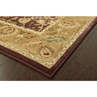 Poise Plum 8 ft. x 11 ft. Area Rug