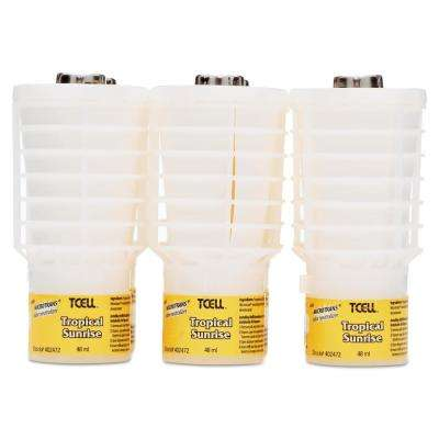 1.62 oz. Tropical Sunrise Odor TCell Microtrans Neutralizer Refill (6-Carton)