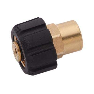 3/8 in. FPT x Female Metric Adapter for Pressure Washers