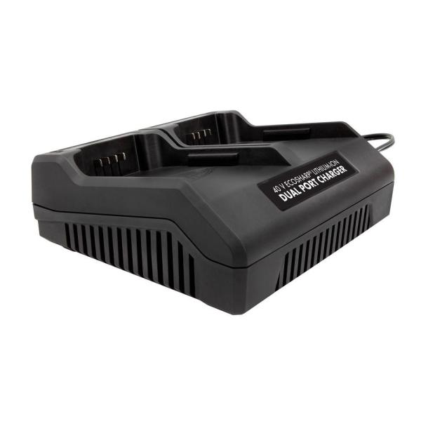 Dual Port iON 40 V EcoSharp Lithium-Ion Charger