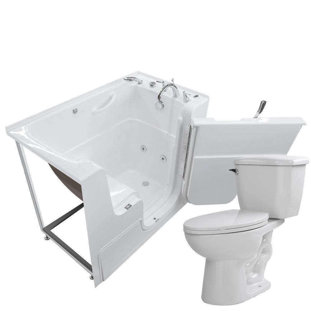 Universal Tubs Nova Heated Wheelchair Accessible 53 in. Walk-In ...