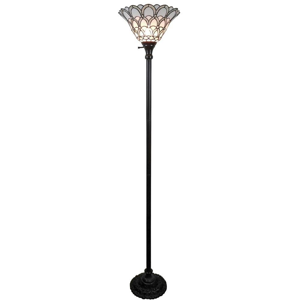 Amora lighting 72 in tiffany style floor lamp am071fl14 the home tiffany style floor lamp aloadofball Image collections