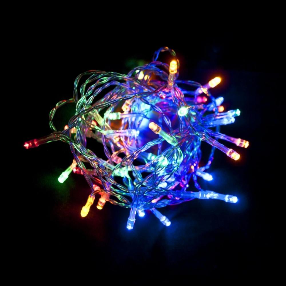 10 ft. 30-Light LED Multi-Color Battery Operated String Light