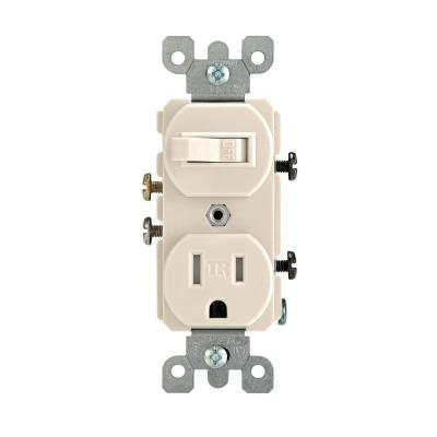 [DIAGRAM_38DE]  Leviton 15 Amp Tamper-Resistant Combination Switch and Outlet, Ivory-R51- T5225-0IS - The Home Depot   Leviton T5225 Wiring Diagram Switch      The Home Depot