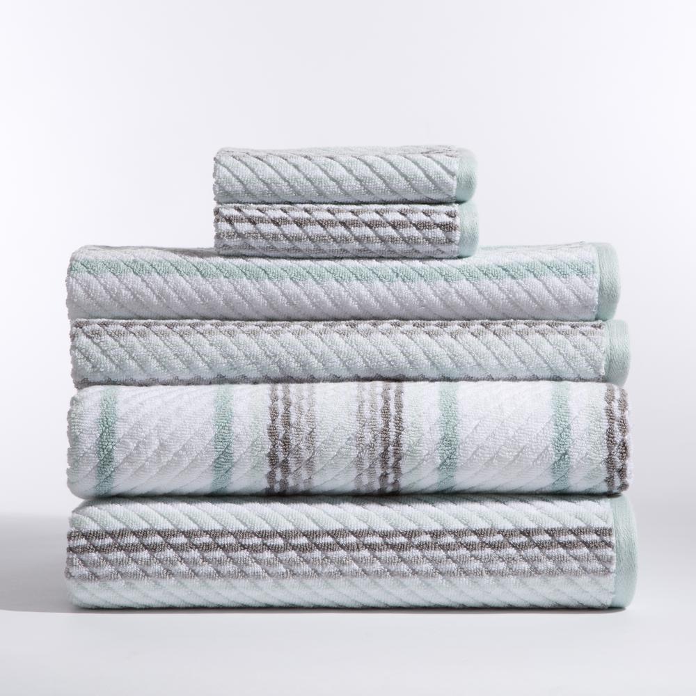 Stripes 6-Piece Bath Towel in Carlyle