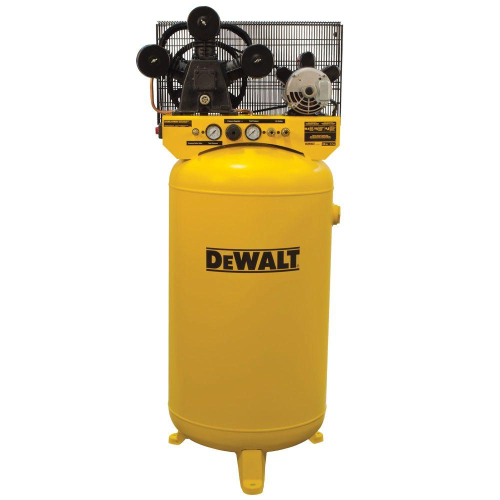 DEWALT 80 Gal. Vertical Stationary Electric Air Compressor