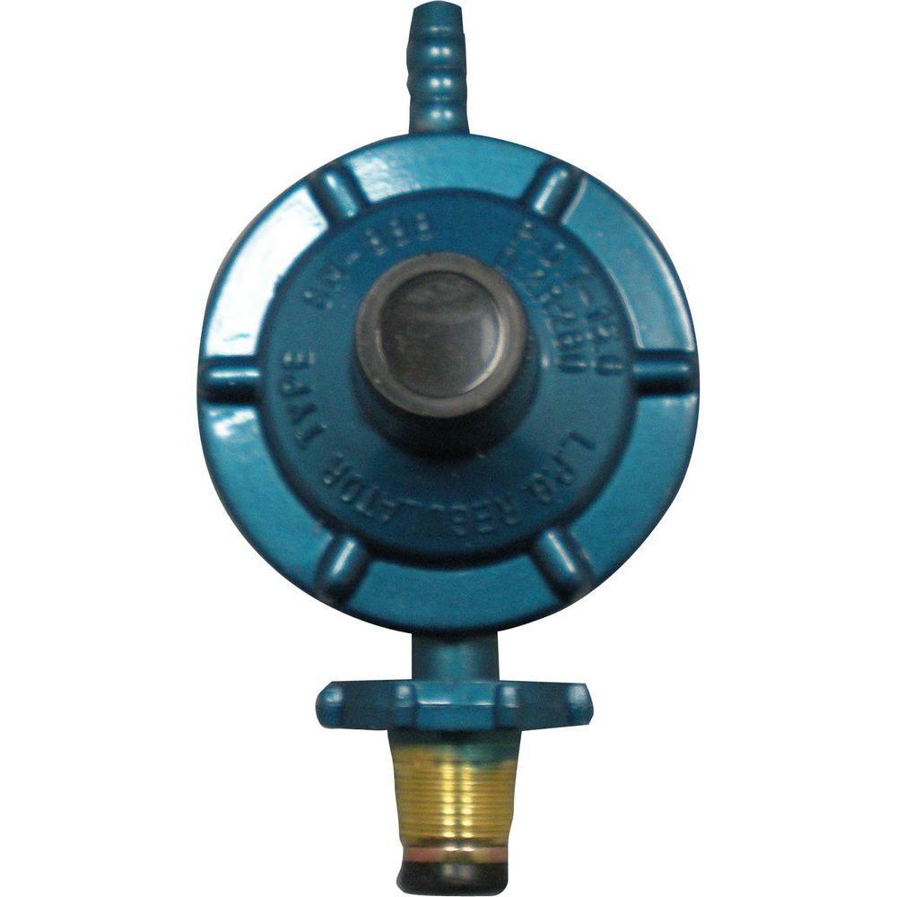 PlumbPro 1/2 in  x 3/8 in  Liquid Propane Gas Regulator