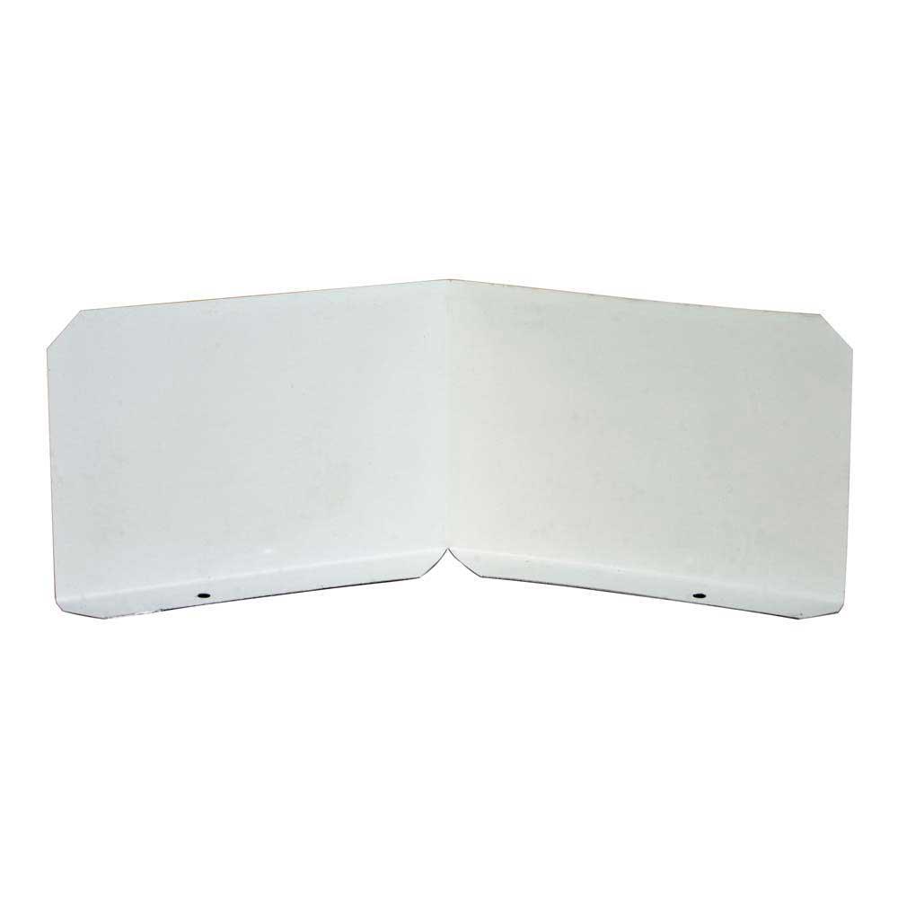 Gibraltar Building Products Aluminum Splash Shield (2-Pack