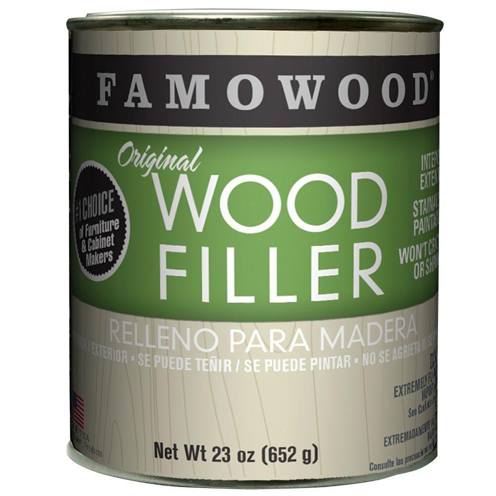 Famowood 1 Pt Oak Teak Original Wood Filler 12 Pack