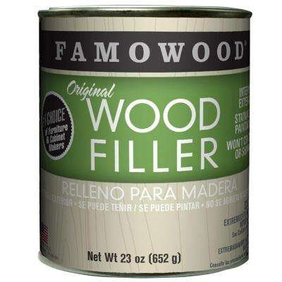 1-pt. Oak/Teak Original Wood Filler (12-Pack)
