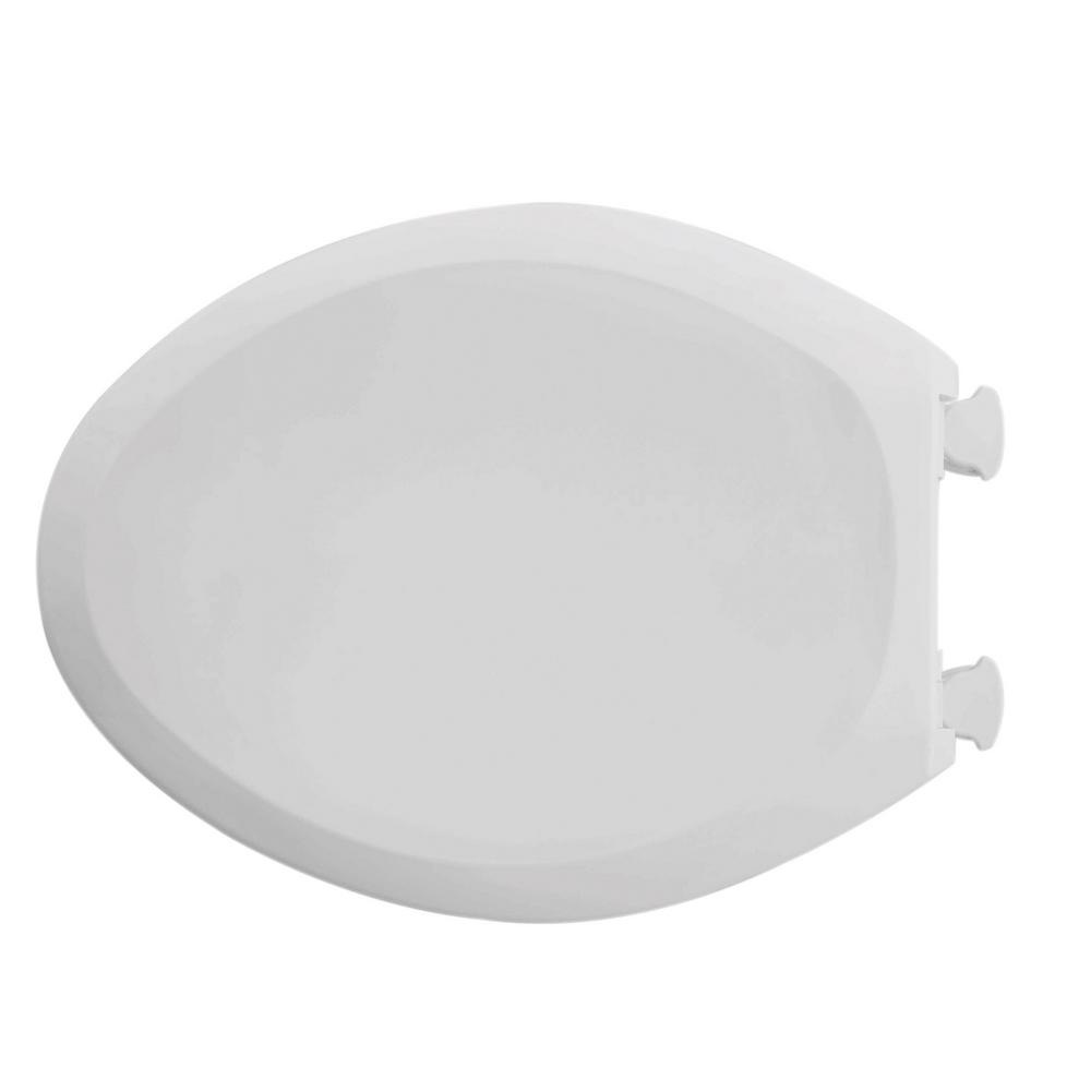 Champion Slow Close Elongated Closed Front Toilet Seat in Linen