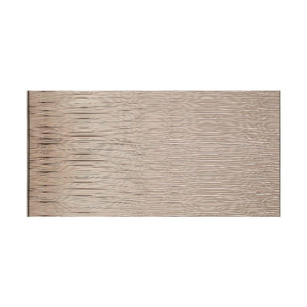 This Review Is From:Waves Horizontal 96 In. X 48 In. Decorative Wall Panel  In Brushed Nickel