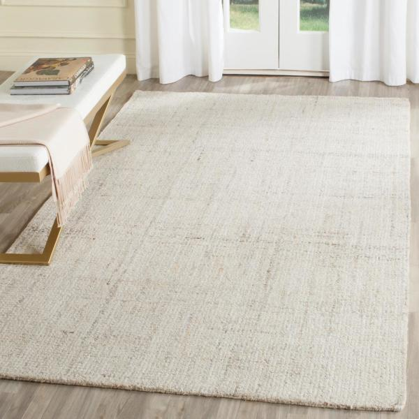 Safavieh Abstract Ivory Beige 8 Ft X 10 Ft Area Rug Abt141d 8 The Home Depot