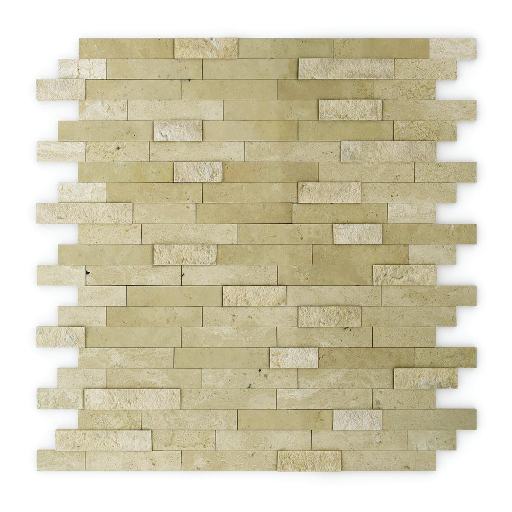 Inoxia SpeedTiles Cairo Beige 11.75 in. x 11.6 in. x 5 mm Stone Self ...