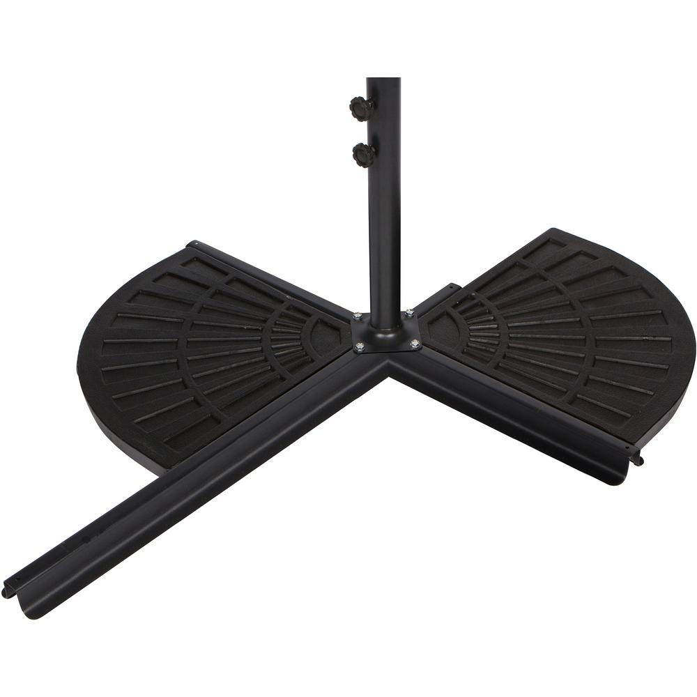 Trademark Innovations Resin Patio Umbrella Base Weight For 44 Lbs Offset Set Of