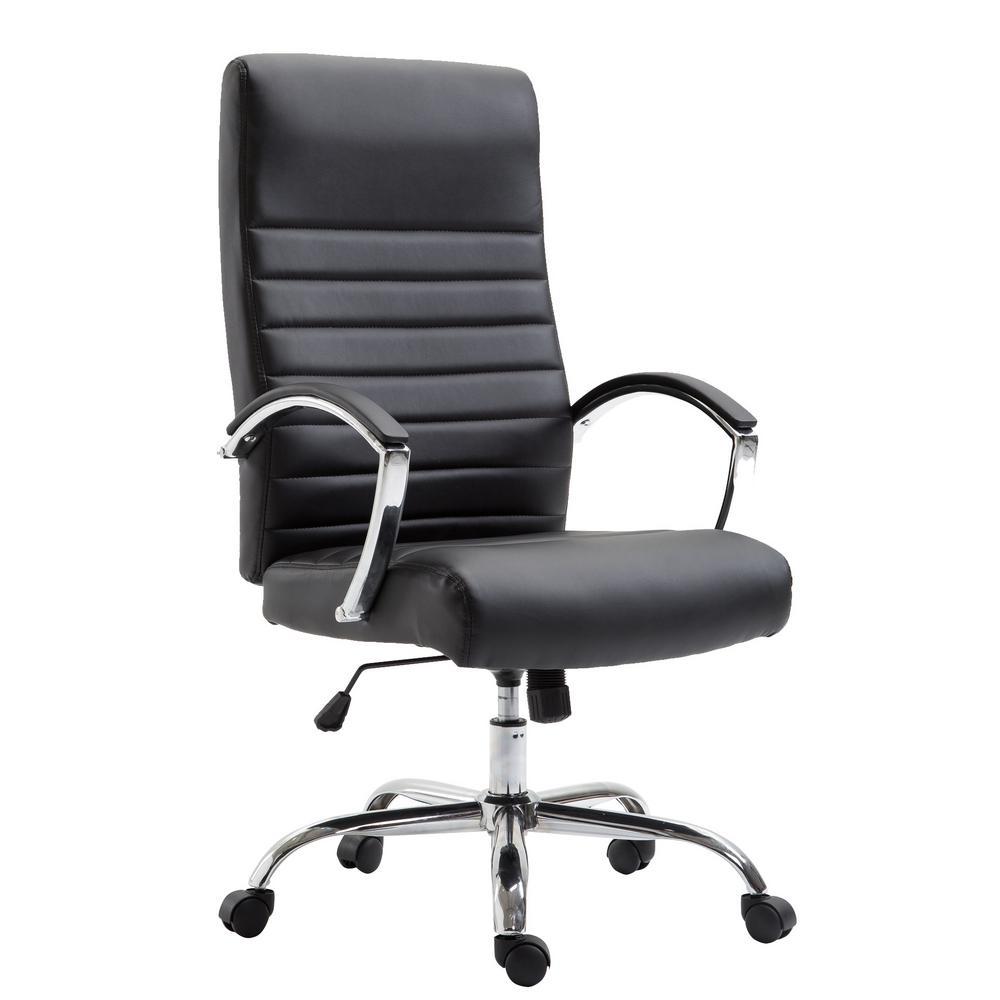 Francesca Black Office Chair