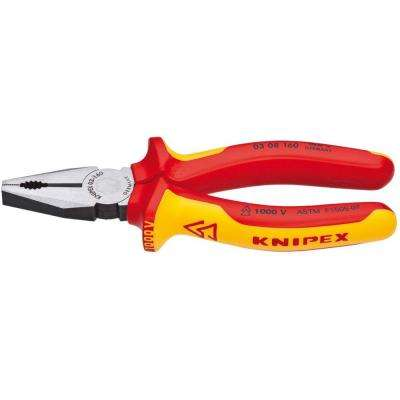 6-1/4 in. 1,000-Volt Insulated Combination Pliers