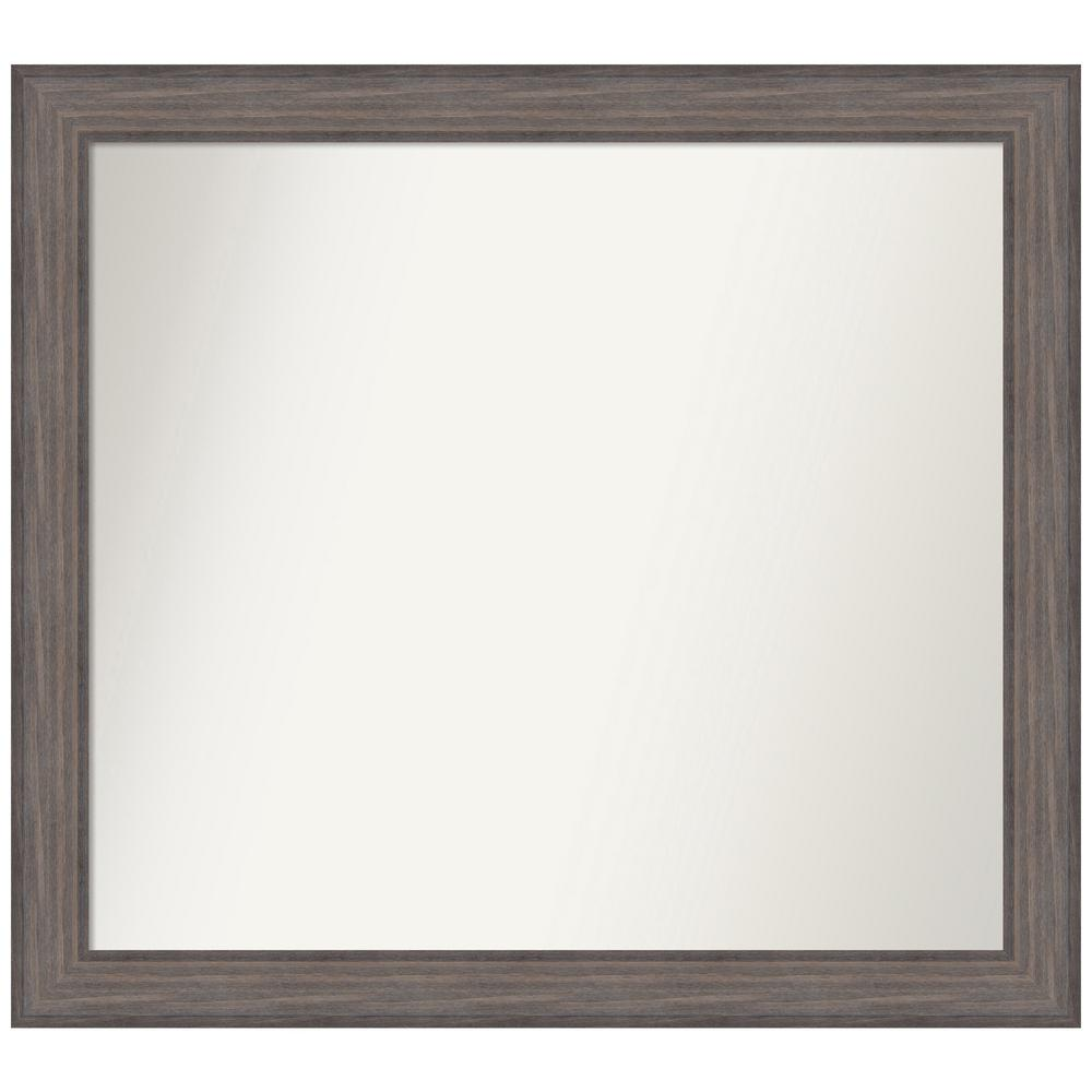 Amanti Art Choose Your Custom Size 40.25 in. x 36.25 in. Country Barnwood Decorative Wall Mirror was $458.96 now $269.86 (41.0% off)