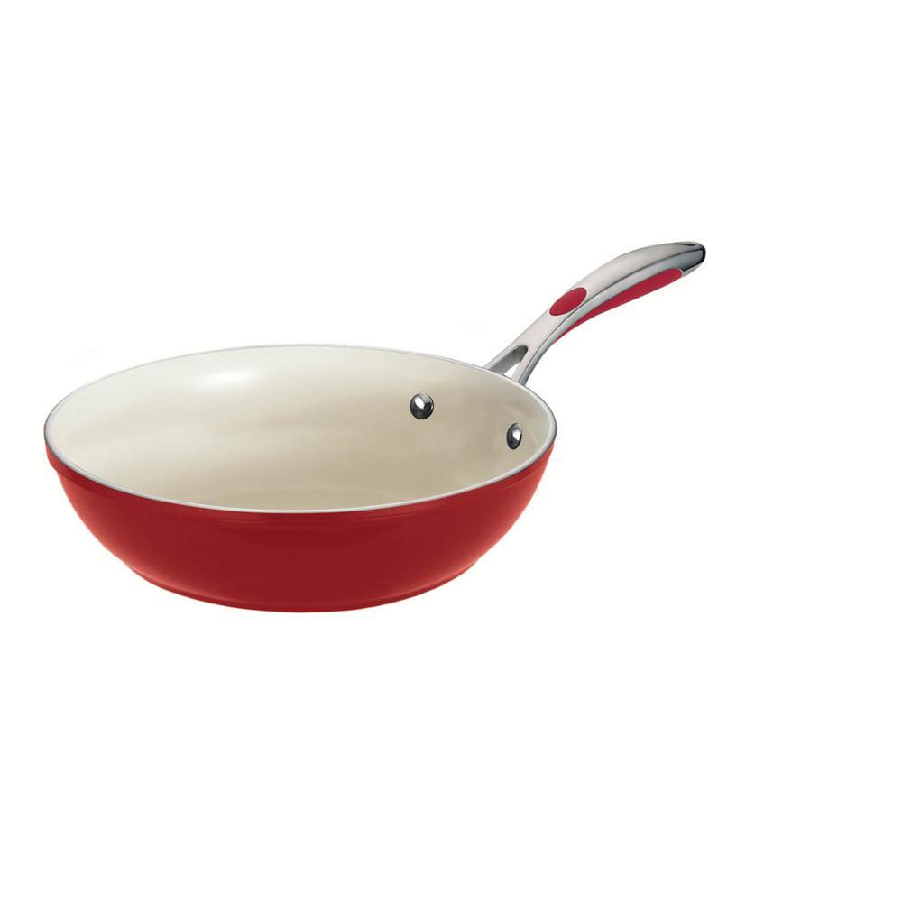Gourmet Ceramica Deluxe 11 in. Stir-Fry Pan