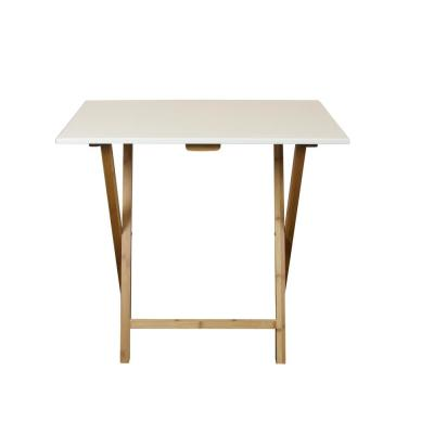 32 in. W Solid Bamboo Frame Folding Desk