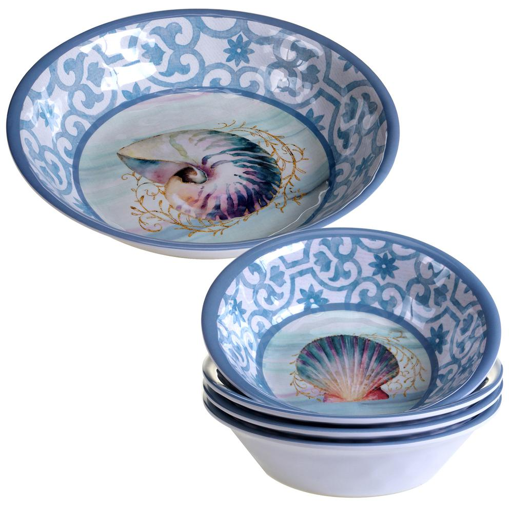 Ocean Dream 5-Piece Salad/Serving Set