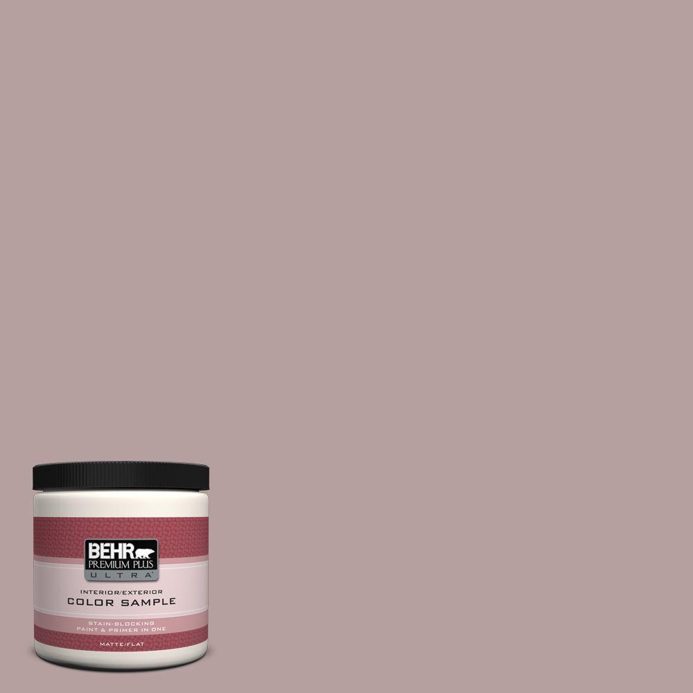 8 oz. #N130-4 Plum Taupe Interior/Exterior Paint Sample