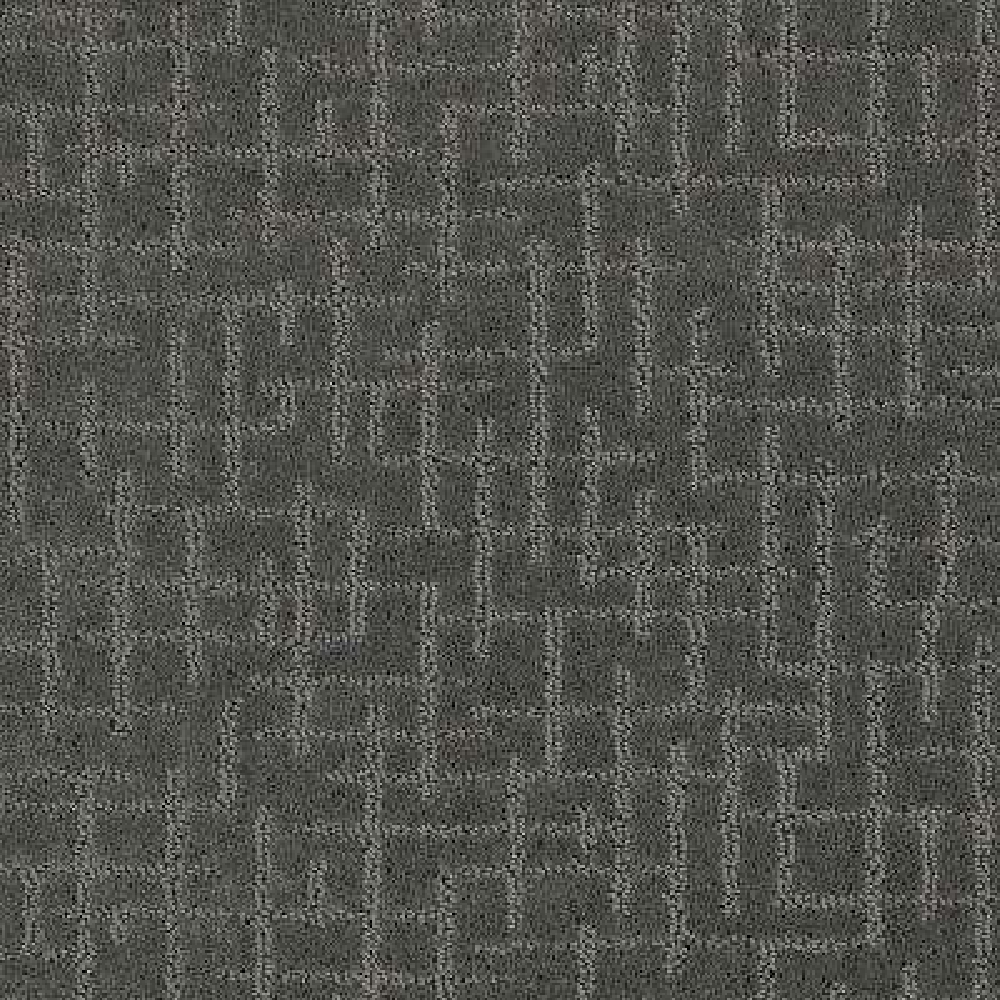 Latice - Color Soft Smoke Pattern 12 ft. Carpet