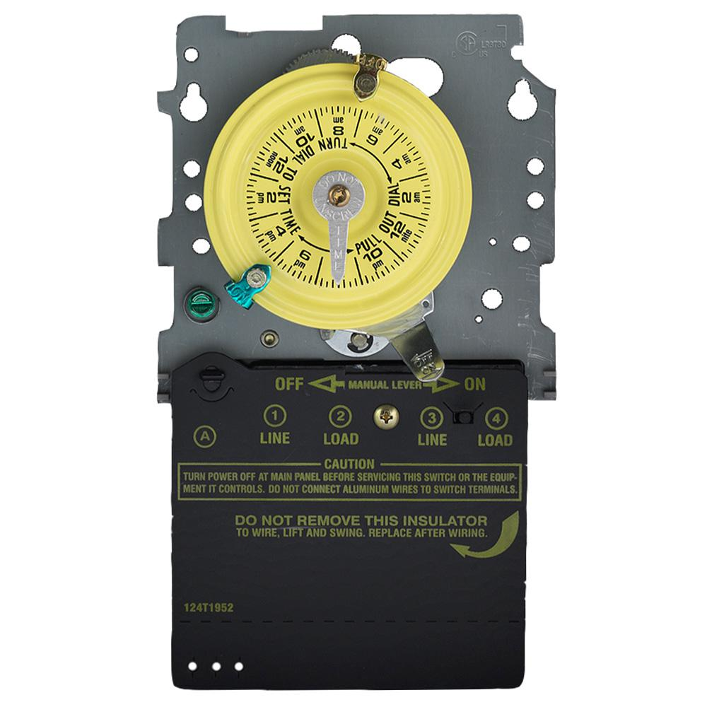 Defiant 15 Amp 7 Day Indoor In Wall Corded App Timer Switch White Download Image Ceiling Fan Wiring Diagram Pc Android Iphone And Ipad T100 Series 120 Volt 24 Hour Outdoor Mechanical Mechanism