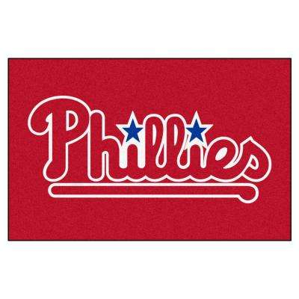 Philadelphia Phillies 19 in. x 30 in. Accent Rug