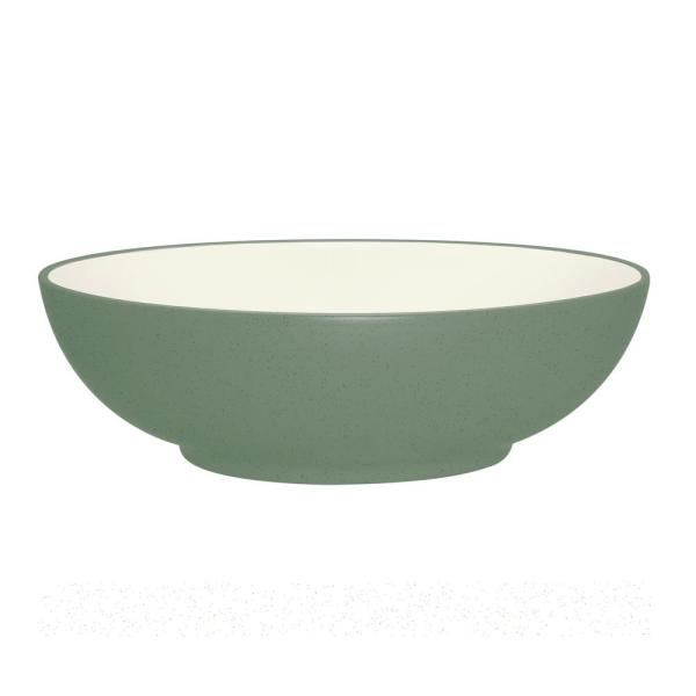 Noritake Colorwave 64 oz. Green Round Vegetable Bowl 8485-426