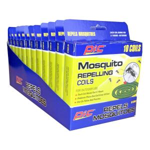 PIC Mosquito Repellent Coils (10-Pack/Case) (Total Number of Coils - 120) from Insect Traps