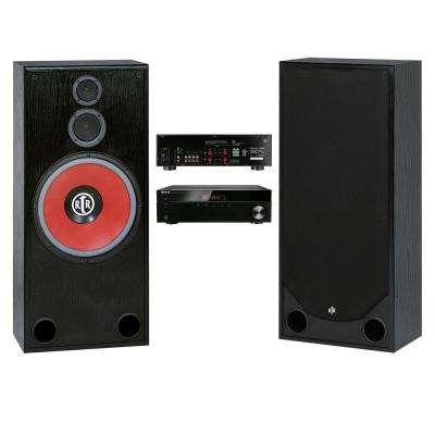 Home Theater Speaker System (2-Piece) with Stereo Receiver