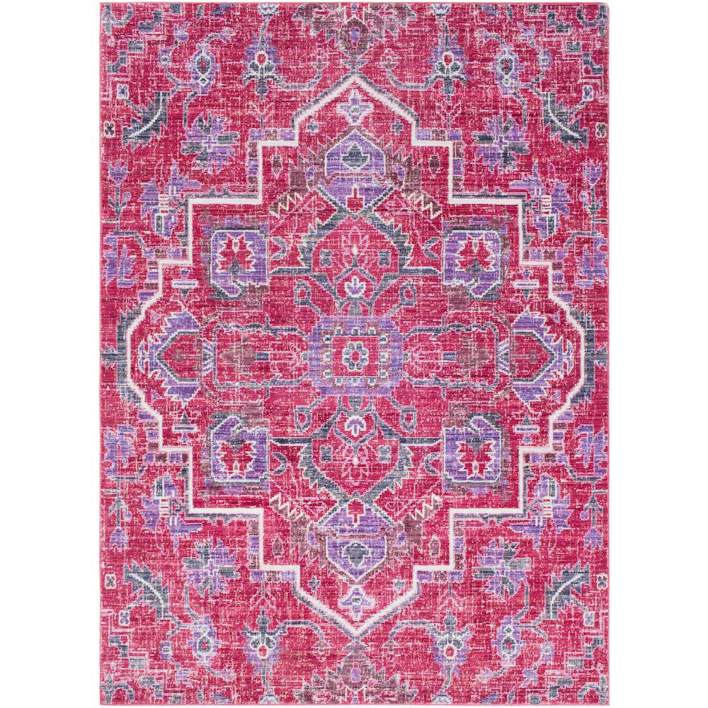 Oriental Rugs Grand Rapids: Surya Germili Bright Pink 8 Ft. X 10 Ft. Indoor Area Rug