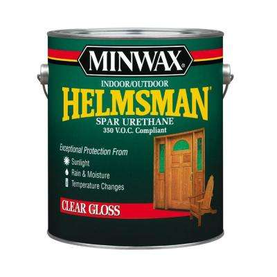 1 gal. Gloss Helmsman Indoor/Outdoor Spar Urethane (2-Pack)