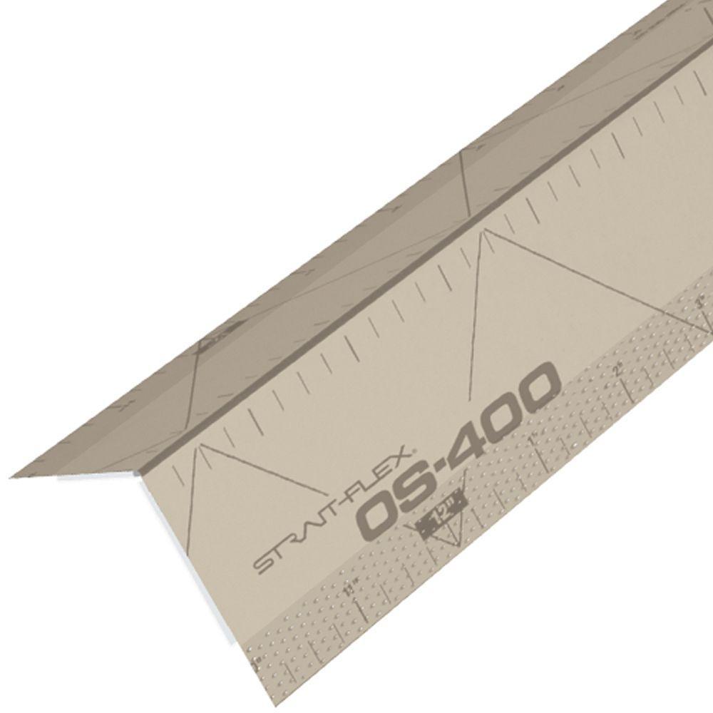 Strait-Flex 4 inch x 8 ft. Paper-Faced Composite Drywall Corner Bead by Strait-Flex
