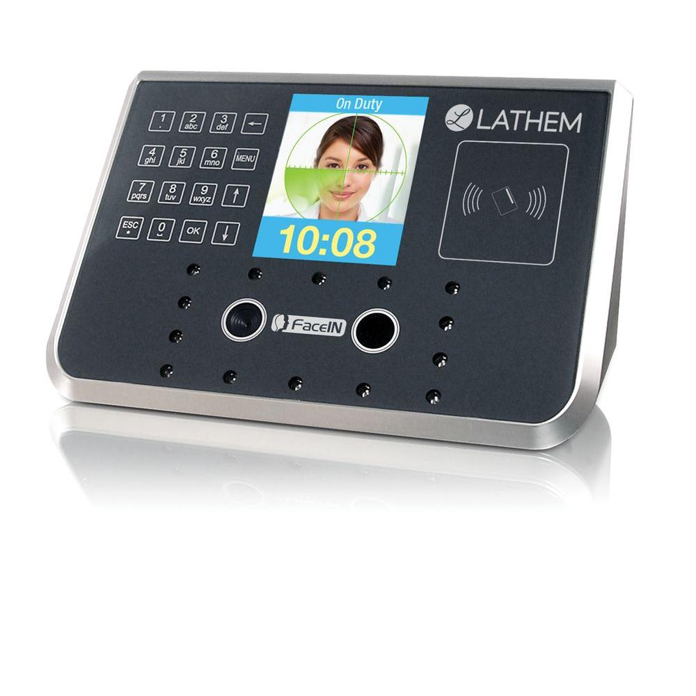 Lathem Time Facein Time And Attendance And Access Control Face Recognition System