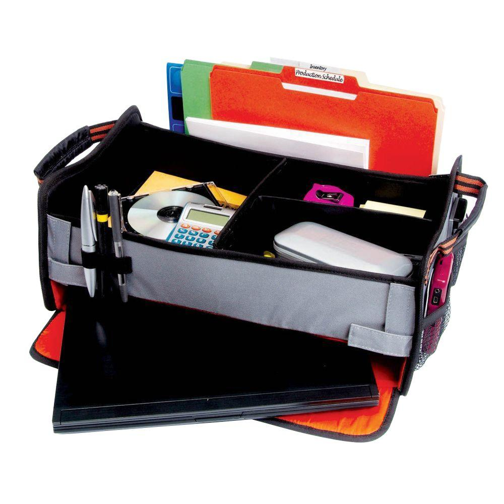 Highland Front Seat Office En Route Organizer with Integrated Laptop Storage Compartment