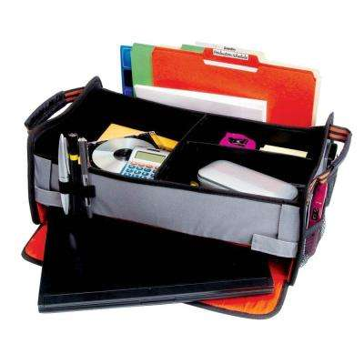 Front Seat Office En Route Organizer with Integrated Laptop Storage Compartment