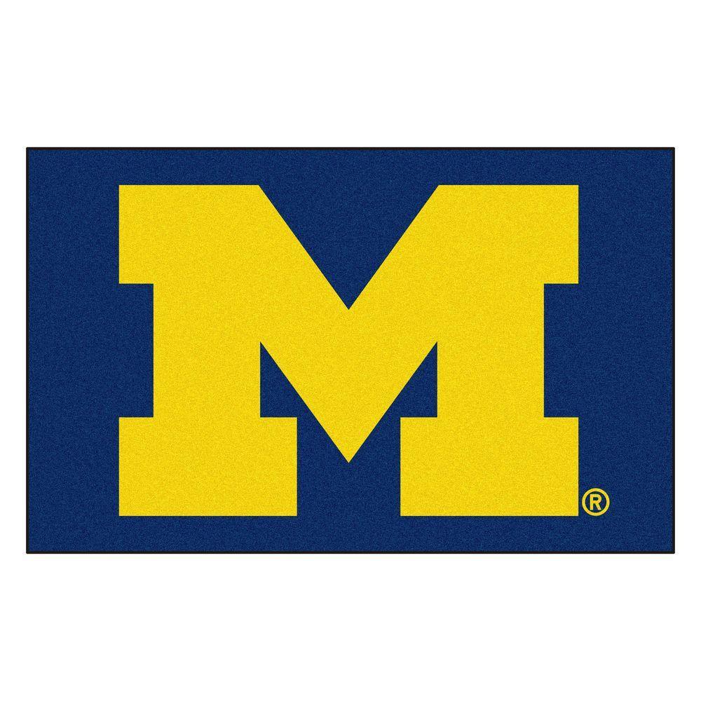 University of Michigan 60 in. x 96 in. Ulti-Mat