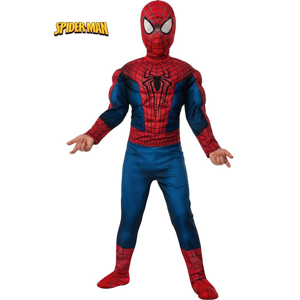 Rubie S Costumes Boys Deluxe Amazing Spider Man 2 Muscle