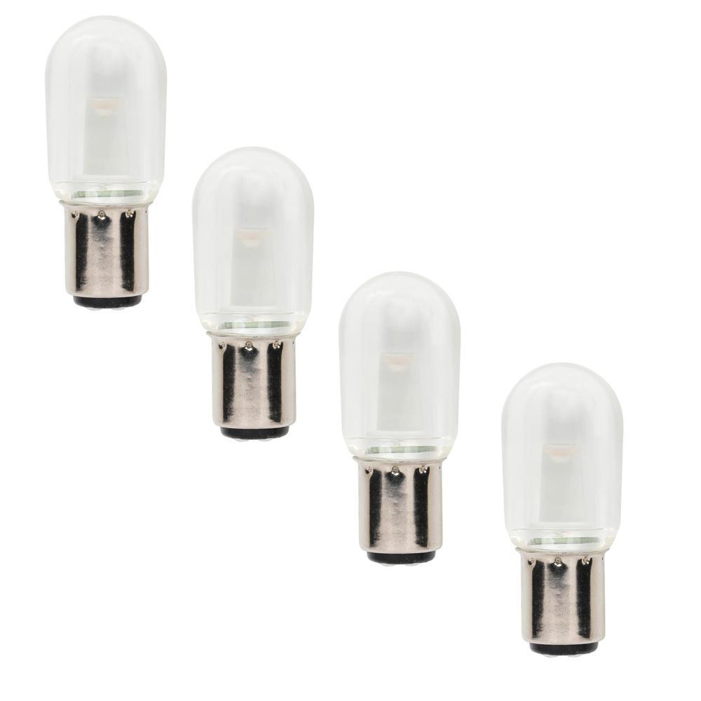 15W Equivalent T7 LED Light Bulb Clear (4-Pack)