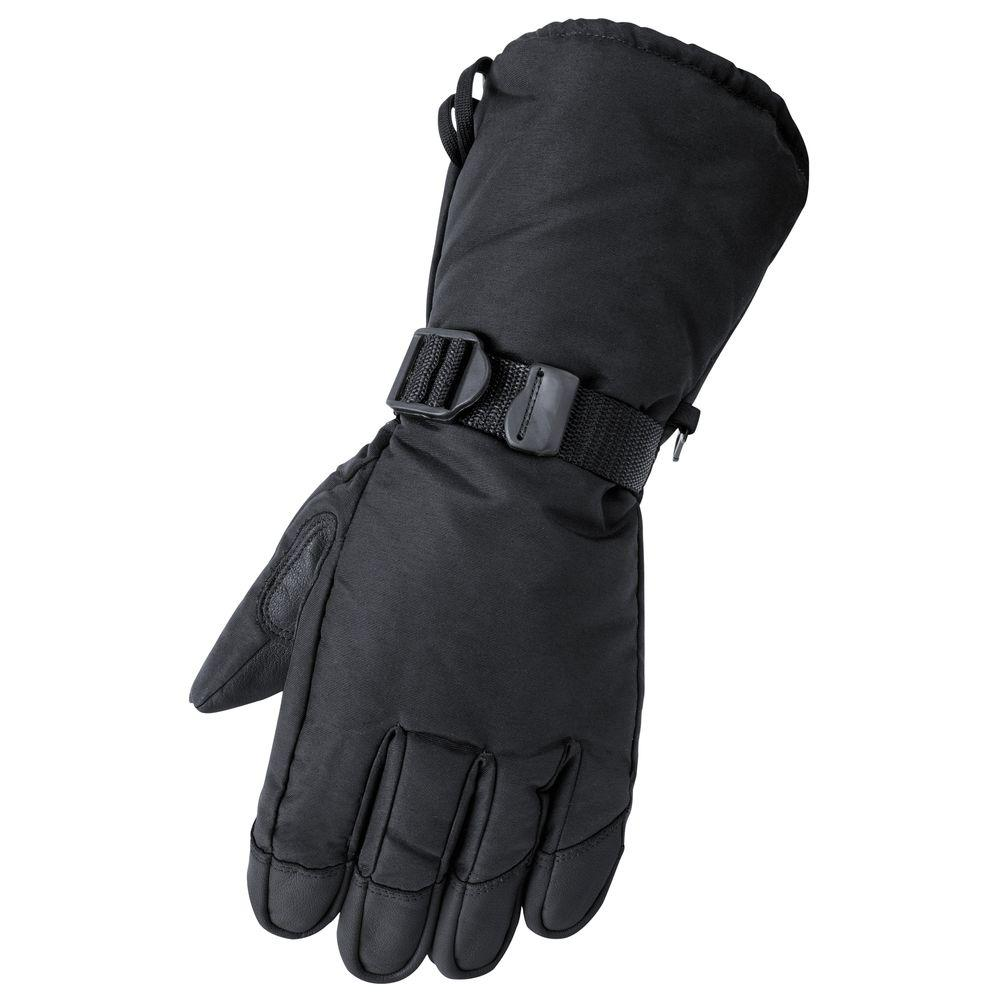 Raider Deerskin Gauntlet Medium Black Glove
