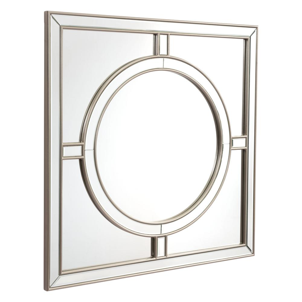 Zuo square wall mirror a10430 the home depot for Square mirror