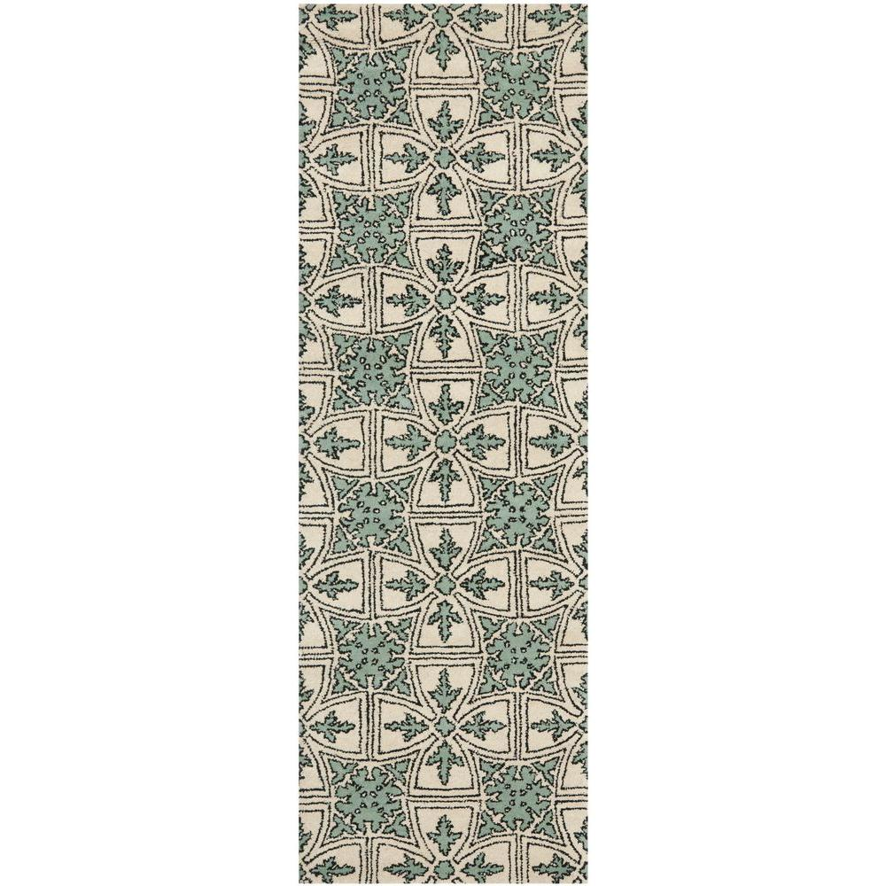 Chatham Light Blue/Ivory 2 ft. 3 in. x 7 ft. Runner