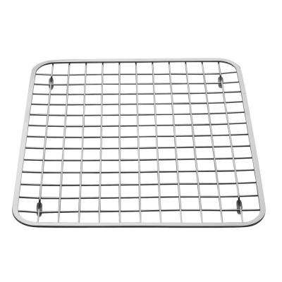 12.75 in. x 11 in. Gia Sink Grid in Chrome